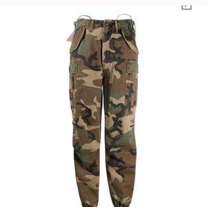 Vintage camo pants camouflage trendy oversized